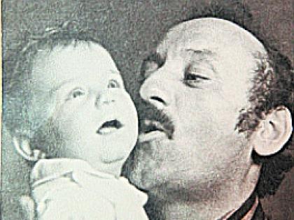 Семен Фарада с сыном