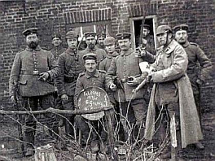 Знаменитое Рождественское перемирие 24 декабря 1914
