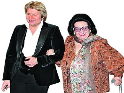 Монтсеррат Кабалье и Николай Басков