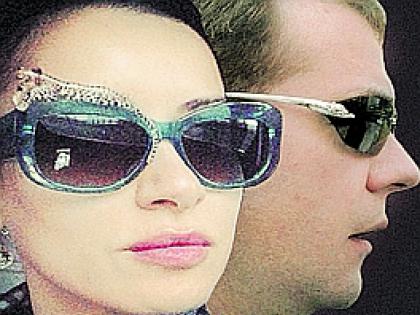 Дмитрий Медведев и Тина Канделаки