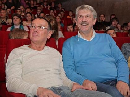 Юрий Чернов и Сергей Николаев