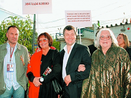Владимир Литвинов с коллегами