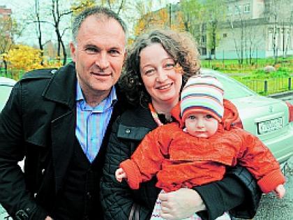 Владимир Литвинов с женой