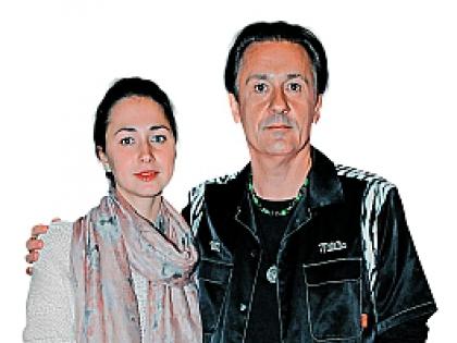 Олег Меньшиков и Анастасия Меньшикова