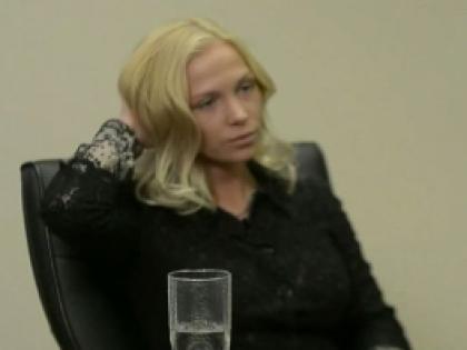 Евгения Вавринюк (кадр из видео)