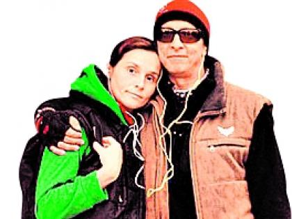 Иван Охлобыстин с супругой Оксаной