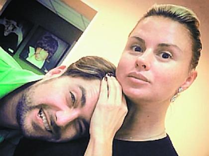Анна Семенович и Дмитрий Оленин