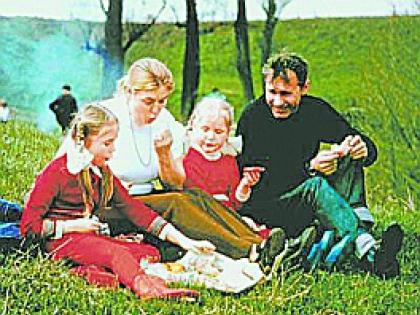 Семья Шукшиной