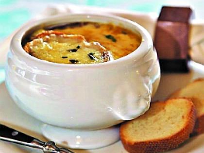 Крестьянский суп на французский манер