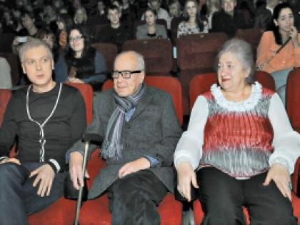 Сергей Светлаков с родителями