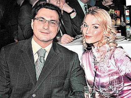 Анастасия волочкова с Игорем Вдовиным