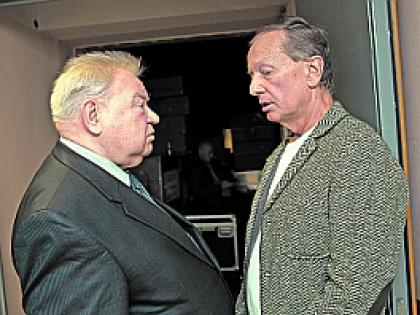 Михаил Задорнов и Георгий Гречко