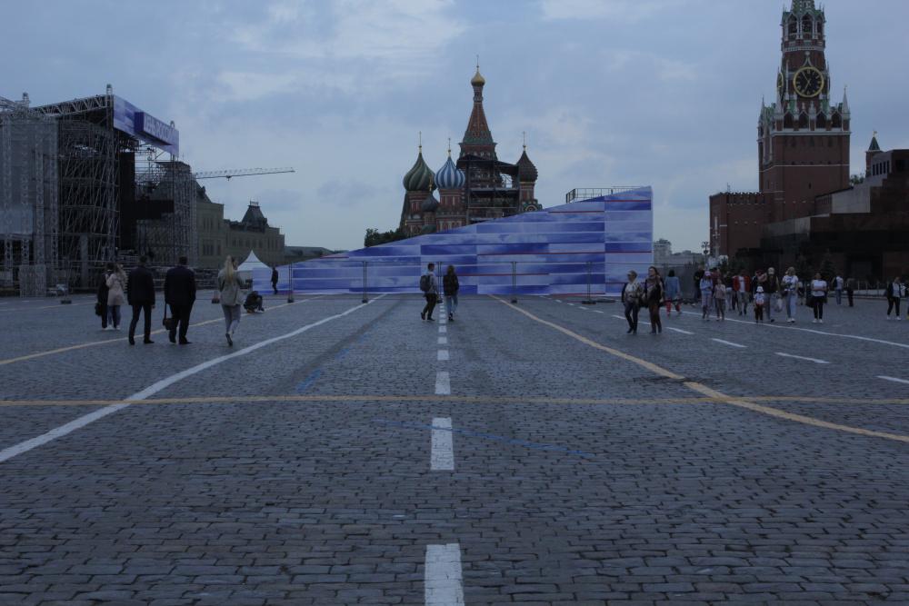 В Москве задержали Павла Крисевича за акцию на Красной площади