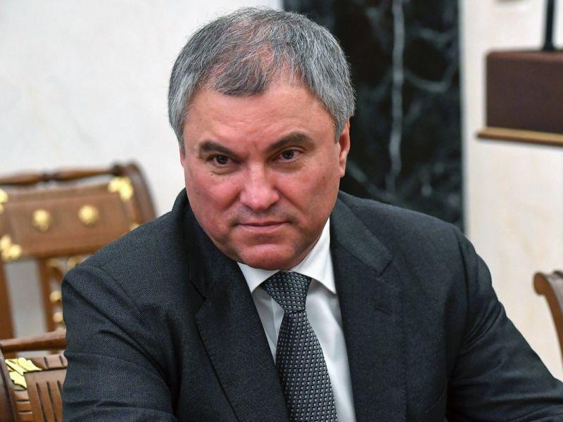 Лизнул так лизнул: россияне о Володине после слов о сохранении президентства за Путиным