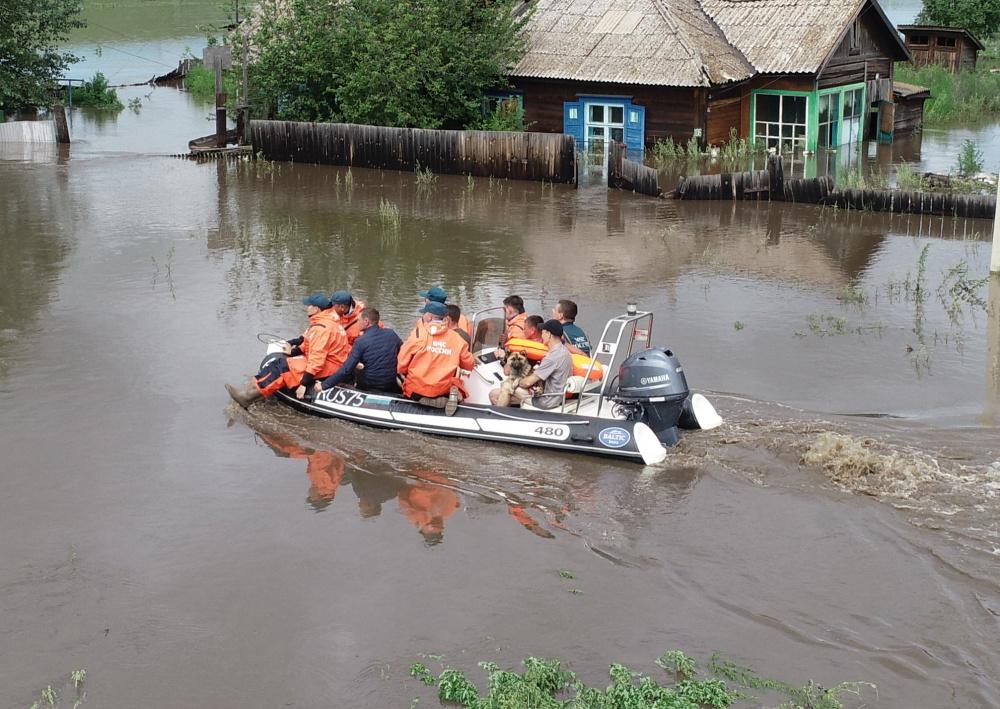 В зоне подтопления в Забайкалье оказались 2500 человек, в том числе 625 детей