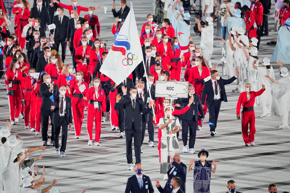 Российские волейболисты победили США на Олимпийских играх в Токио