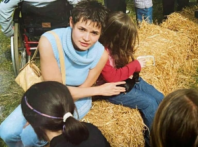 Светлана Тихановская с детьми