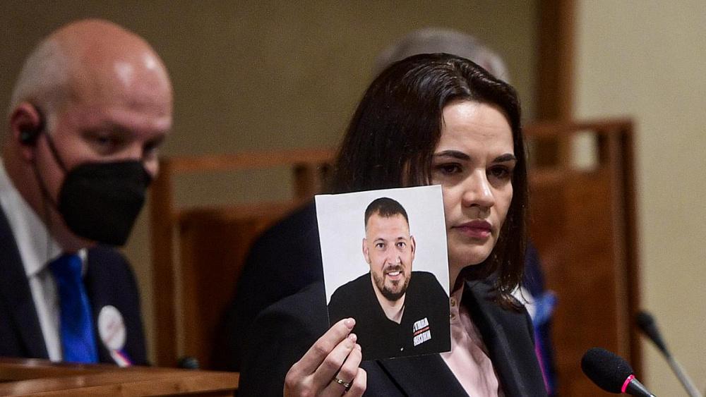 Муж Тихановской – Сергей находится в тюрьме с 29 мая прошлого года.