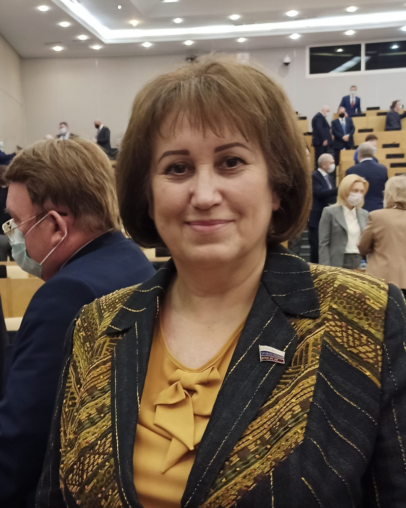 Депутат Госдумы Вера Ганзя