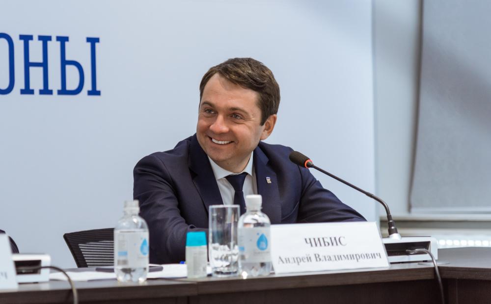 Андрей Чибис на заседании Совета Федерации