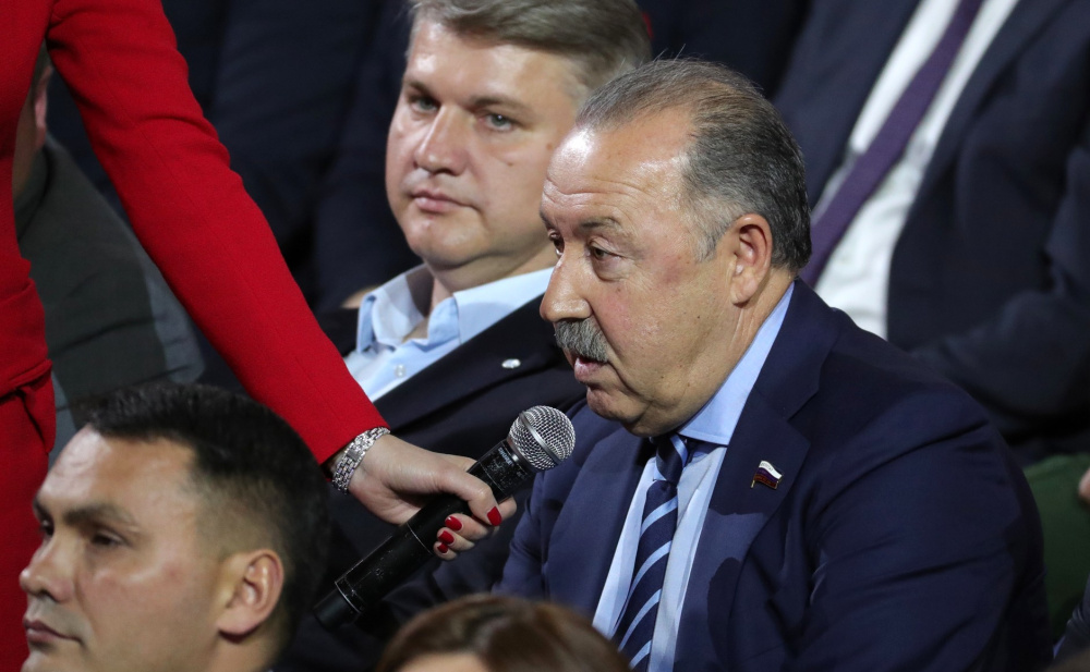 Валерий Газзаев на прямой линии с Владимиром Путиным