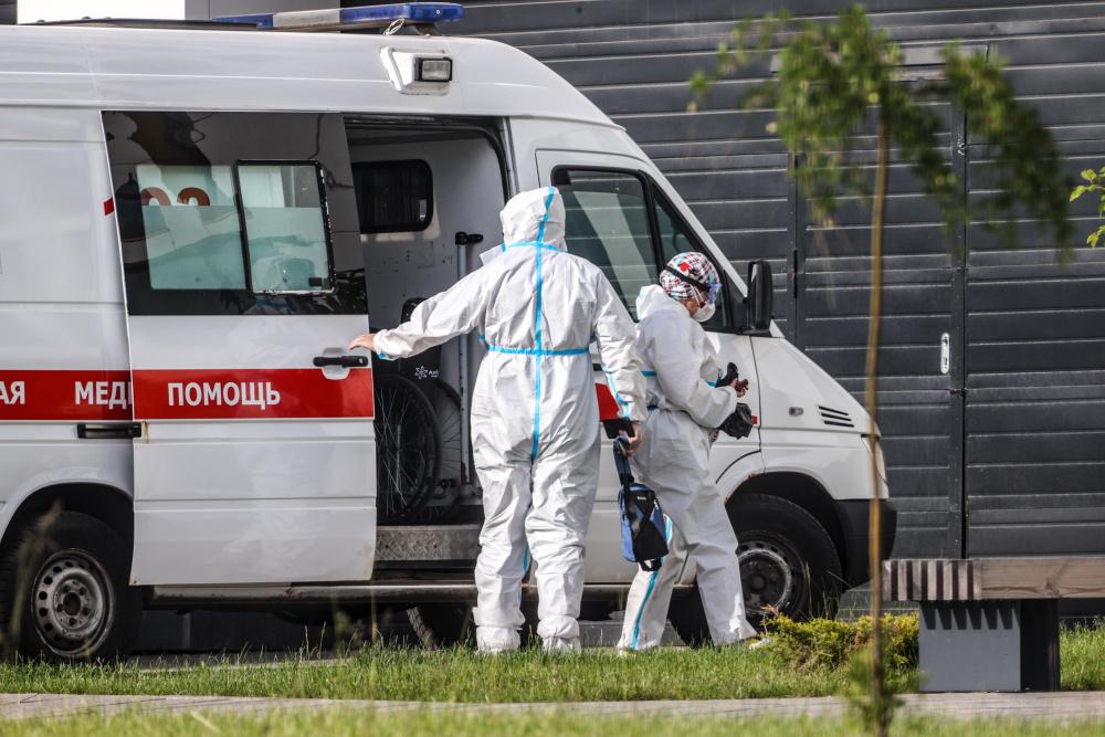 В России за сутки выявили почти 19 тысяч новых случаев COVID-19
