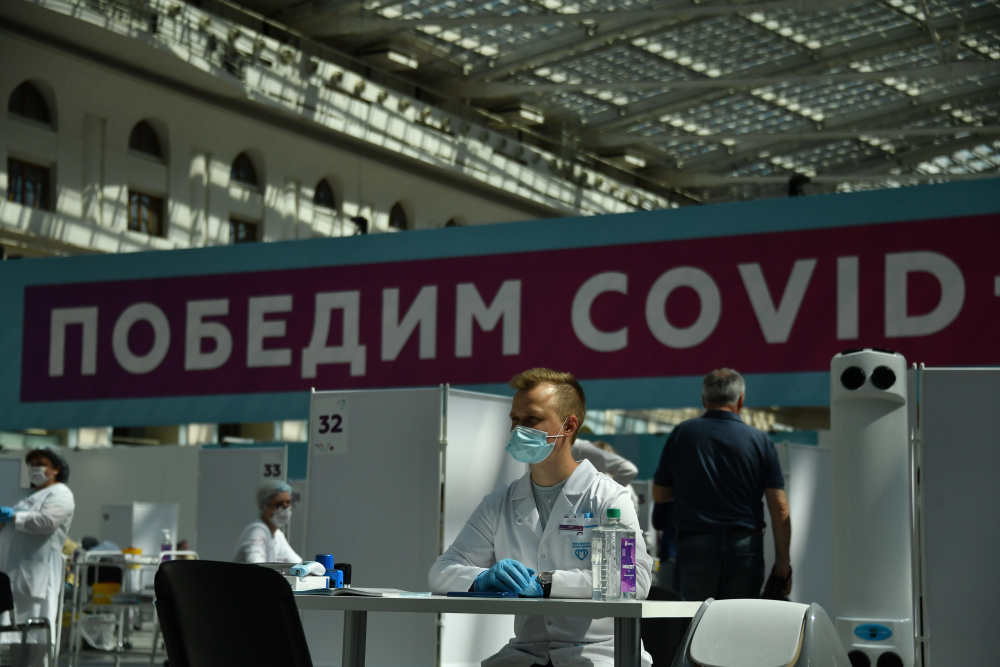 В России и Москве продолжается поствыборный рост новых случаев ковида