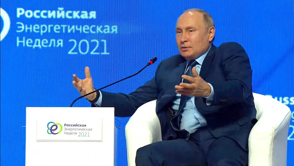 Далеко не все в тюрьме: что на форуме по энергетике Путин говорил об оппозиции, СМИ, Муратове и Навальном