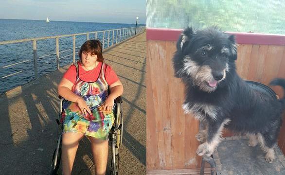 Это травма ребёнку: Недовольные соседи девушки-инвалида потребовали усыпить ее щенка