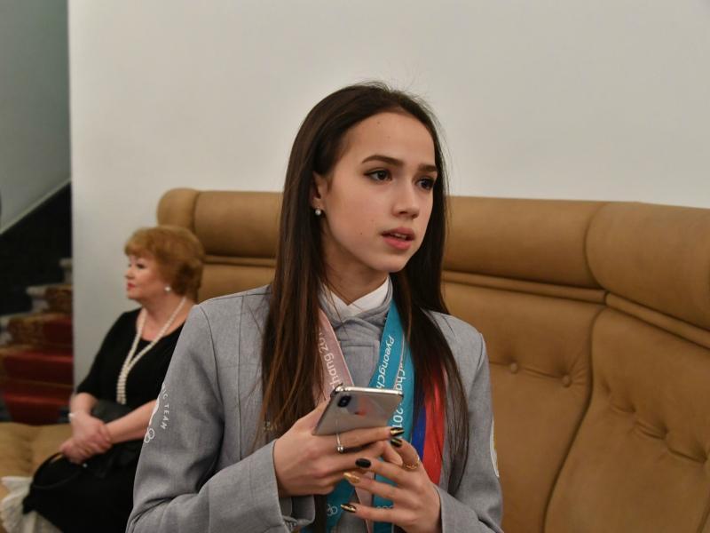 Алина Загитова // Фото: Global Look Press