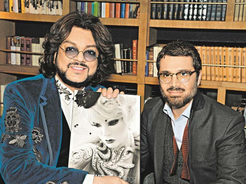 Аслан Ахмадов с Филиппом Киркоровым