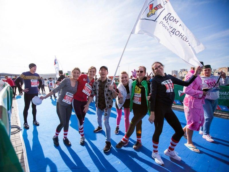 Команда Роналда Макдоналда на марафоне-2017