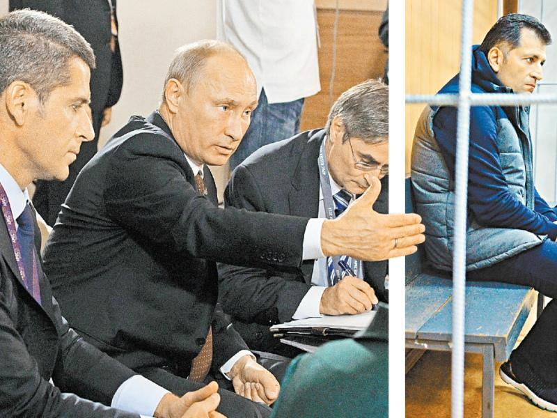 Давал ли Путин лично отмашку на арест Зиявудина (на фото слева) и Магомеда (фото справа) Магомедовых? // Фото: РИА «Новости» / ТАСС // Коллаж: «Собеседник»