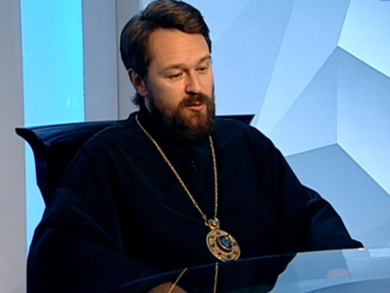 "Митрополит Иларион // стоп-кадр / телеканал ""Культура"""