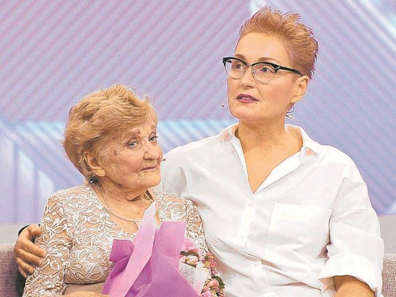 Ольга Шукшина пообещала на одной из передач помогать Марии Шумской