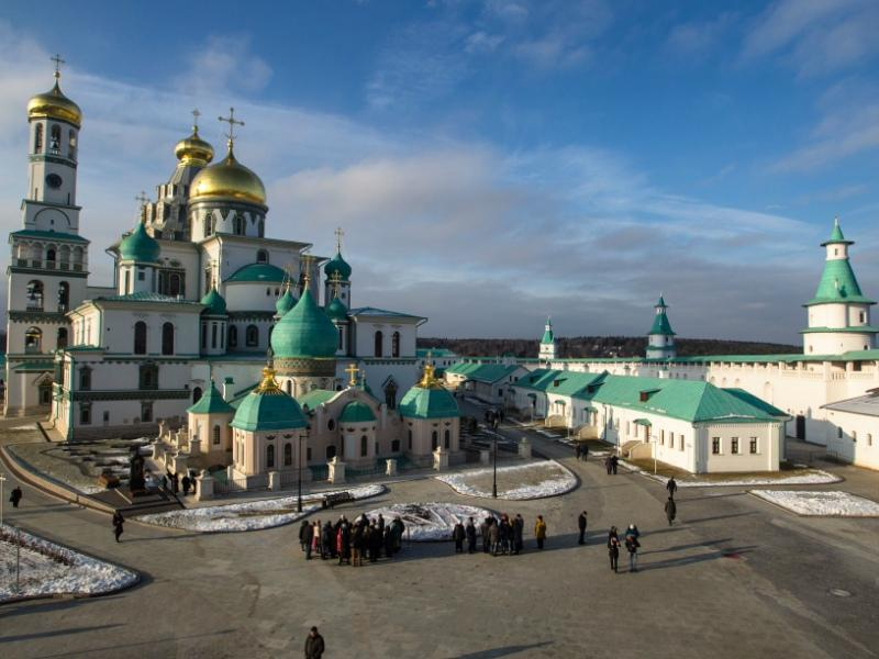 Мужской Ново-Иерусалимский монастырь был основан в 1656 году // Фото: Александр Шпаковский / «Собеседник»