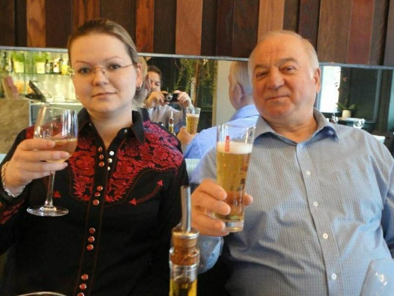 Сергей Скрипаль с дочерю // Фото: Global Look Press