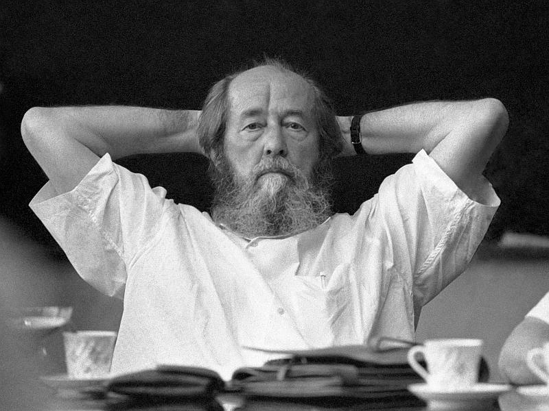 Александр Солженицын // фото: Владимир Зинин / ТАСС