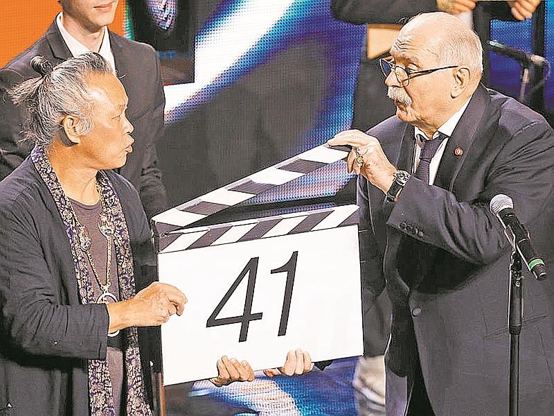 Никита Михалков заманил корейца Ким Ки Дука в жюри // фото: агентство «Москва»