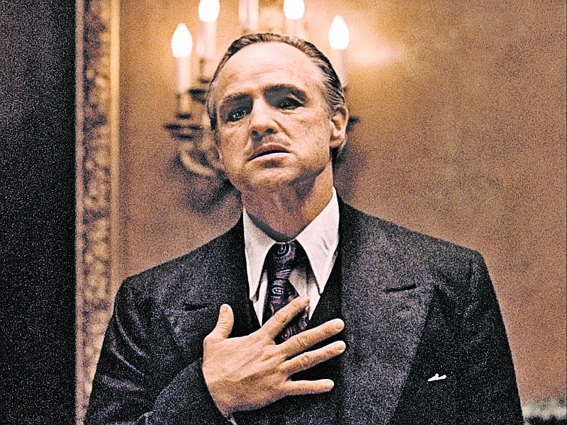 Марлон Брандо в роли Вито Корлеоне // кадр: фильм «Крестный отец»