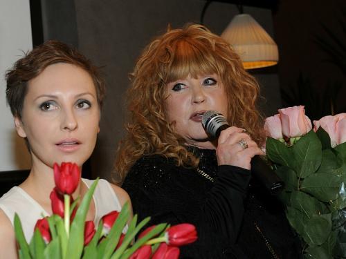 Миронова с Пугачевой // фото: Anatoly Lomohov / Global Look Press
