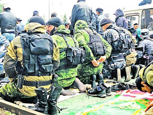 Как увольняют ингушских постовых, вставших живым щитом перед техникой Росгвардии