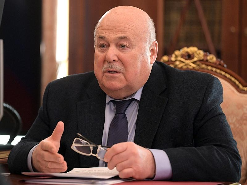 Александр Калягин на встрече с Путиным // фото: Global Look Press