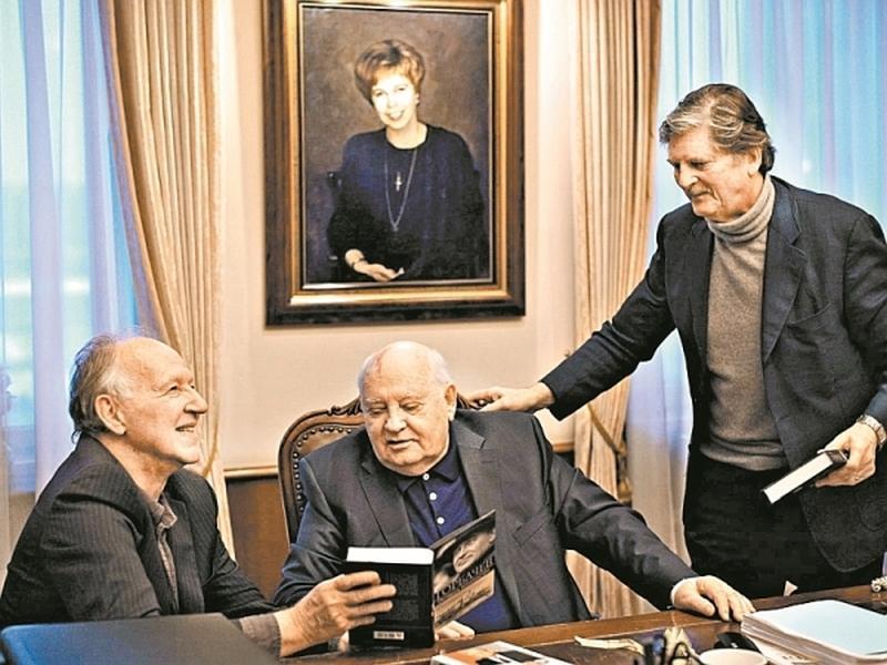 Кадр из фильма «Встречи с Горбачевым»