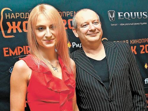 Дмитрий Марьянов с Ксенией Бик // фото: Дмитрий Голубович / Global Look