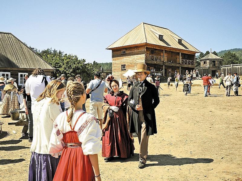 Сейчас тут национальный исторический парк, где проводятся дни истории, фестивали // фото: Александр Петров