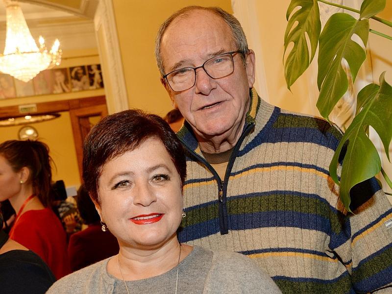 Эммануил Виторган с женой Ириной // фото: Anatoly Lomokhov / Global Look Press