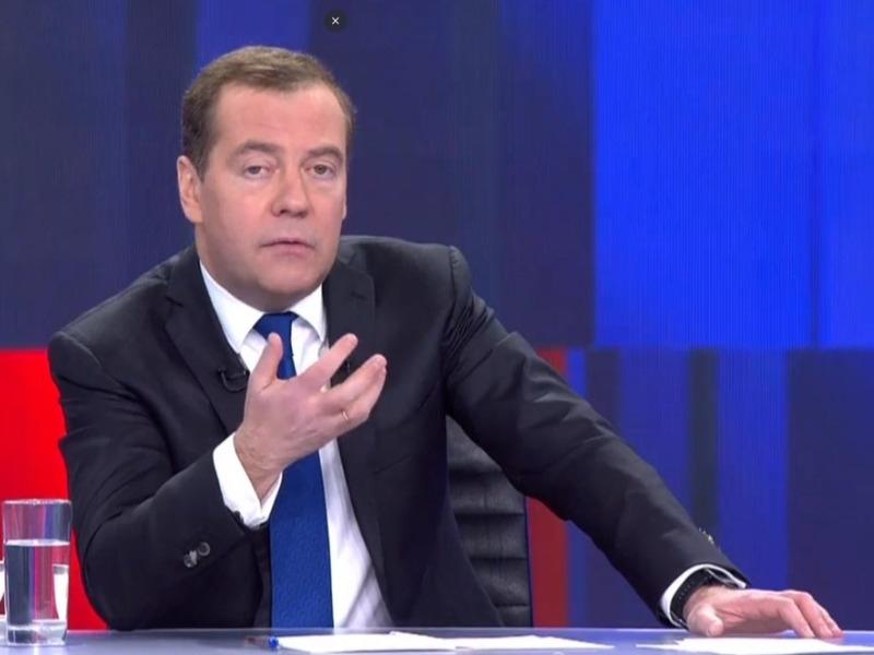 Дмитрий Медведев // Фото: Global Look Press