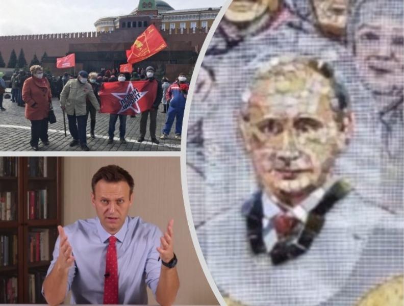 "Фото: сайт ""Левого фронта"", скриншот YоuTube / коллаж: Sobesednik.ru"