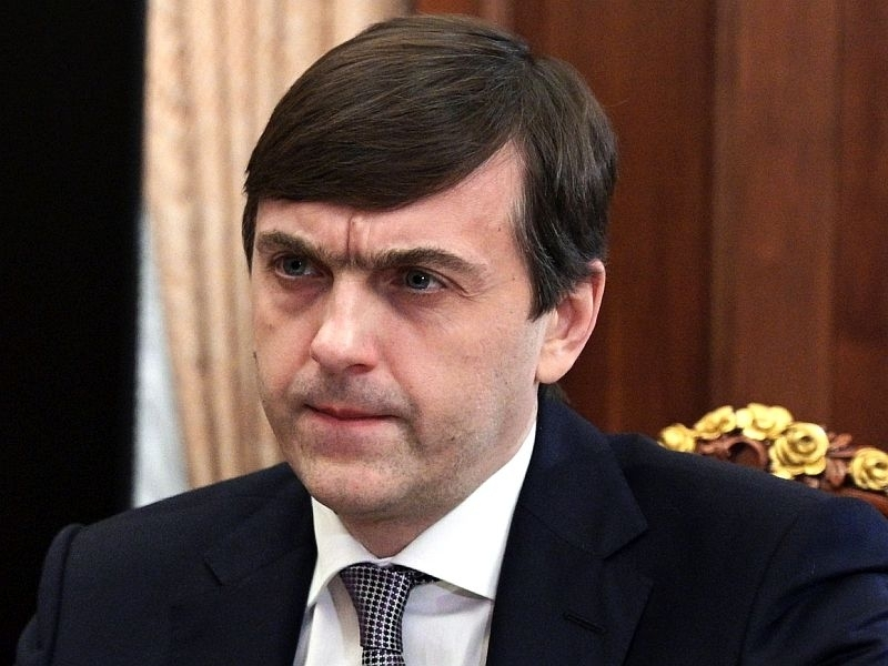 Министр просвещения Сергей Кравцов //  // Фото: Global Look Press